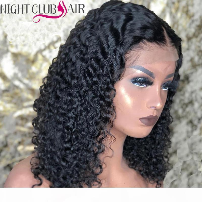 30 Inch Lace Front Wig Curly Human Hair Wigs Long Curly Closure Wig Kinky Wigs Human Hair With Baby