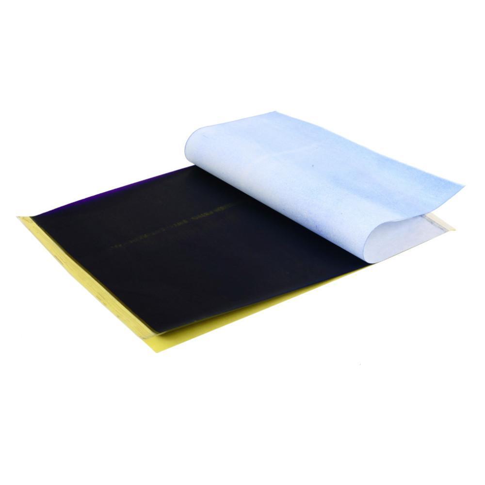 100 ورقة أوراق نقل الوشم A4 حجم الوشم الحراري ناسسل أوراق الاستنسل ل آلة نقل الوشم الملحقات J022