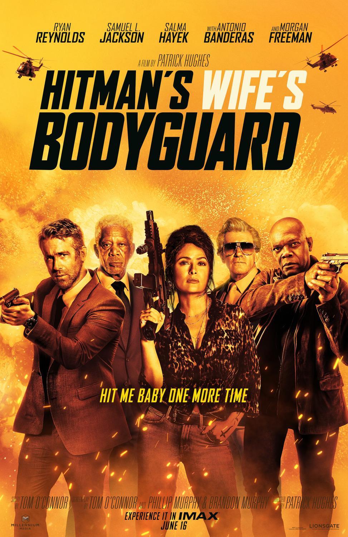Cartel de guardaespaldas de la esposa de Hitman 2021 Película Impresión de película 01