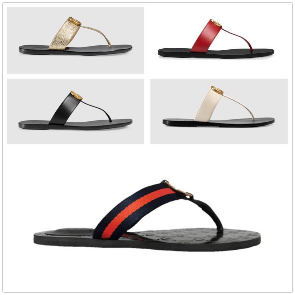 2021 Tasarımcı Sandalet Erkekler Terlik Dişli Dipleri Çevirme Bayanlar Lüks Moda