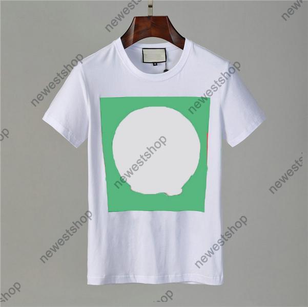 2021 Designer T Shirts Ropa para hombre Tshirt Cat Carta de dibujos animados Impresión Casual Algodón Camiseta de lujo Camiseta de lujo