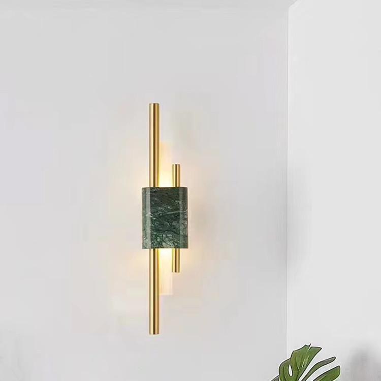Nordic Led Crystal Luminaria Wall Light Cabecero De Cama Dinging Room Lamp