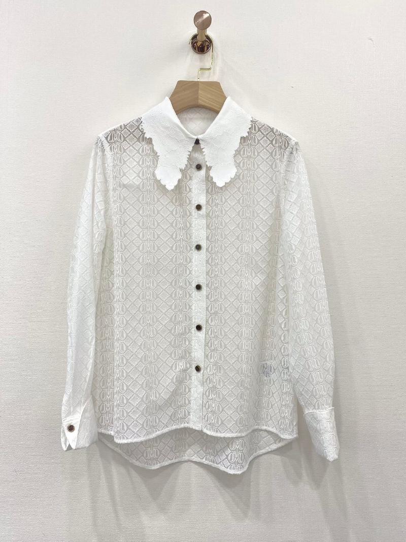 Damenmode langärmelige sexy lässig solide farbe spitze hemd 0313 frauen blusen shirts