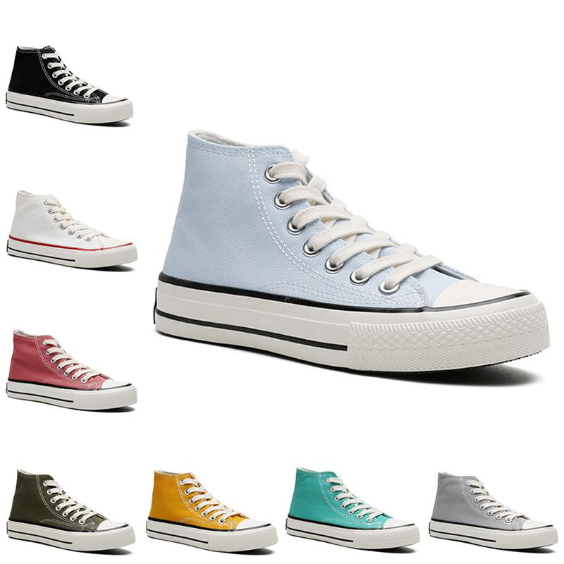أرخص Casuasl قماش الأحذية الرجال النساء منصة عارضة المدرب في الهواء الطلق رجل إمرأة أزياء تعمل الرياضة حذاء رياضة البند 36-44