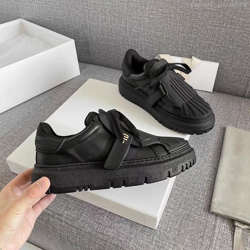 Frauen ID Sneaker Niedrige Oberteile Mode Casual Schuhe Zwei Ton Schwarz Weiß Beige Leder Sneakers Damen Flat Freizeit Trainer verbirgt Schnürsenkel