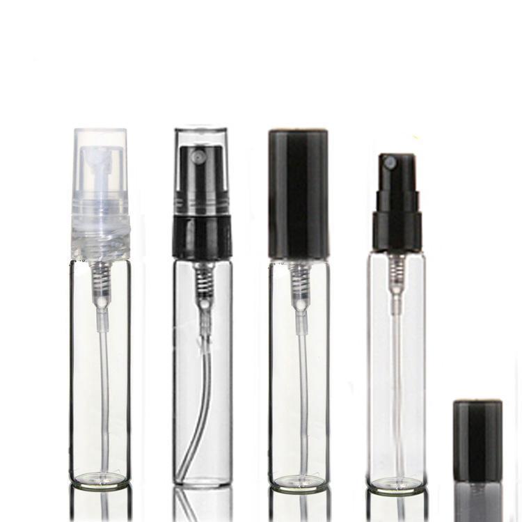 500 قطع × 5 ملليلتر مصغرة إعادة الملء عينة العطور الزجاج زجاجة السفر فارغة رذاذ البخاخات زجاجات التجميل حاوية التعبئة والتغليف