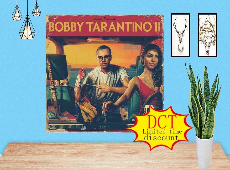 Lógica Bobby Tarantino 2 Poster Hip Hop Music Album Rap Cover Album Poster Music Cover Silk Art Print