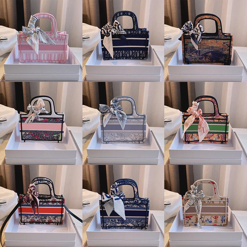 2021 العلامة التجارية مصمم حقيبة تسوق المرأة أعلى جودة الأزياء الفاخرة حقيبة يد مزاجه رسول أكياس حجم 23 * 7 * 16 سنتيمتر
