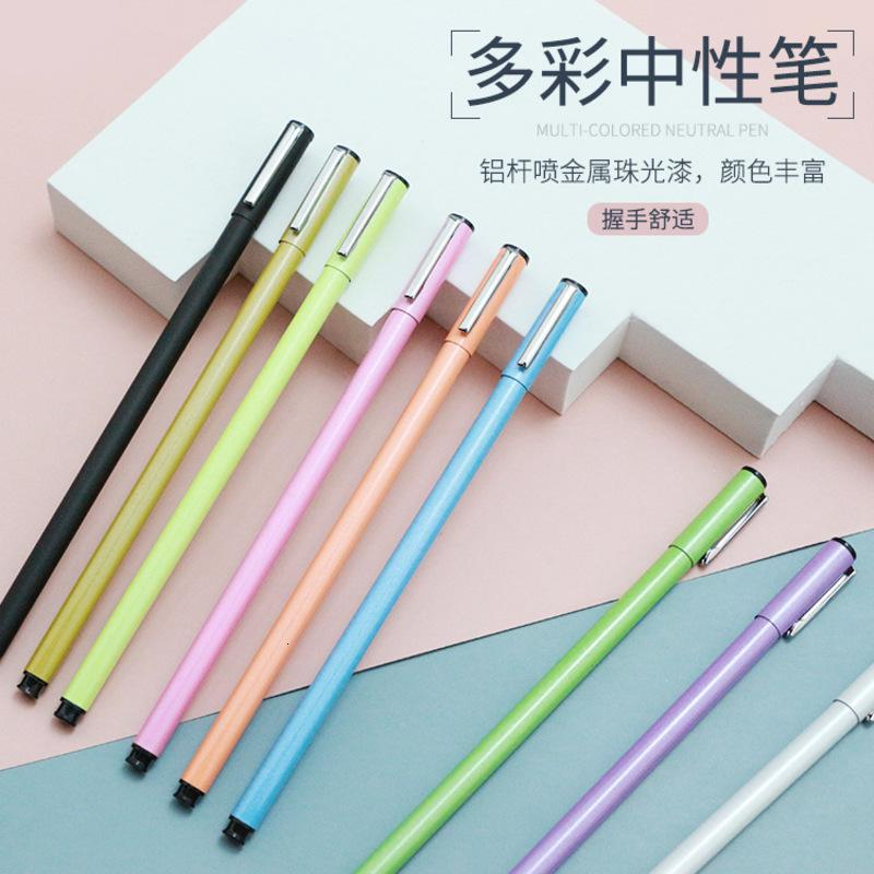 Metal Printing Advertisement Triangle Holder Neutral Business Signature Water Pen