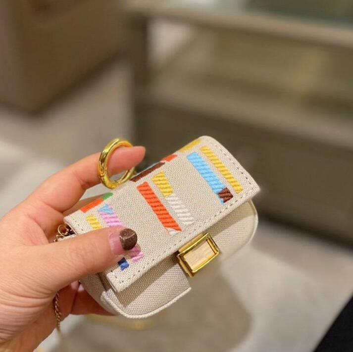 Coin sac Femmes Portefeuilles Luxurys Designers Mini Crossbody Porte-monnaie Mode Toilette Patchwork Couleur Couleur Hasp Chaîne Handbag Haute Qualité Lettre Matériel