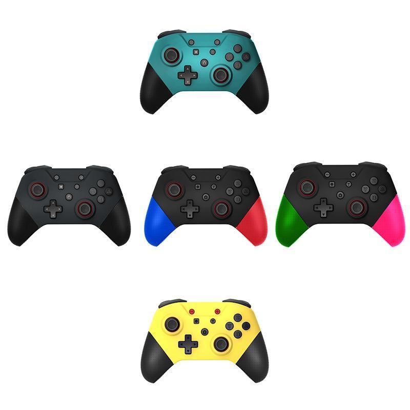 Controller di Gamepad wireless Bluetooth con funzioni NFC 6-Axis e woystick 3D per Switch Pro Console Game Controller