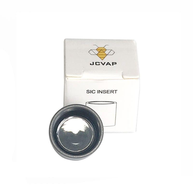 JCVAP Levigato SIC INSERT Silicone in silicone in ceramica V3 Versione in ciotola per fumatori per picco NO Chazz Atomizer sostitutivo cera vaporizzatore