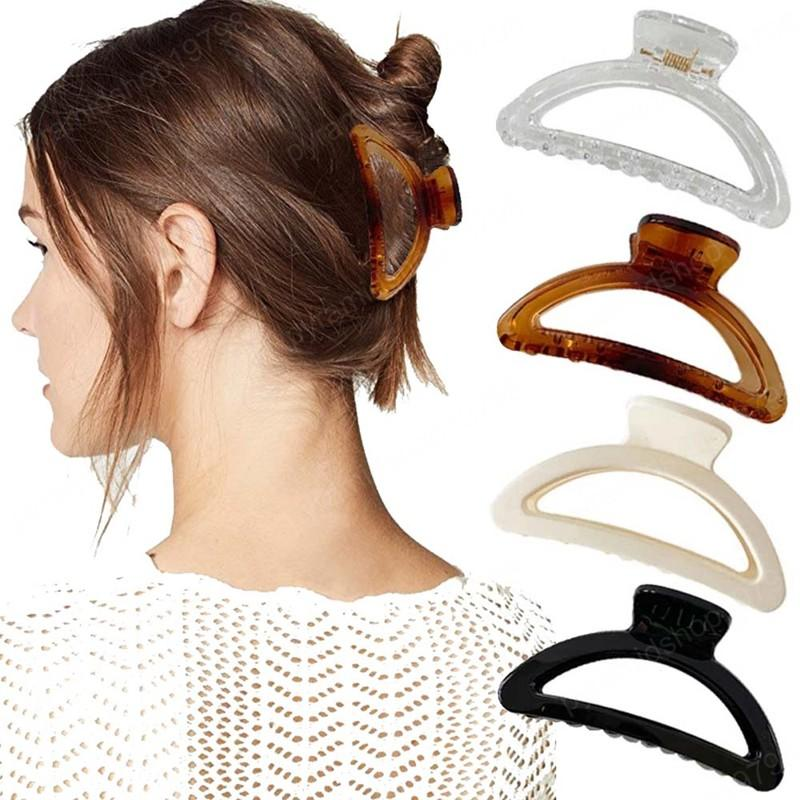 Simple Style Hair Clips Women Girls Hair Claws Clamps Hairpins Barrette Hair Accessories Gifts