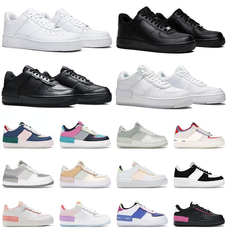 air force 1 hombres zapatillas para correr airforce women shadow sneakers moda blanco negro lino plataforma de alta calidad al aire libre entrenador para hombre