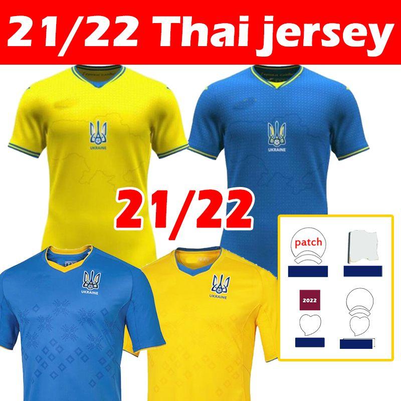 2021 2022 أوكرانيا Soccer Jerseys 21 22 Vitaliy Mykolenko Oleksandr Zinchenko Ruslan Malinovskyi فيكتور Tsygankov المنتخب الوطني الصفحة الرئيسية