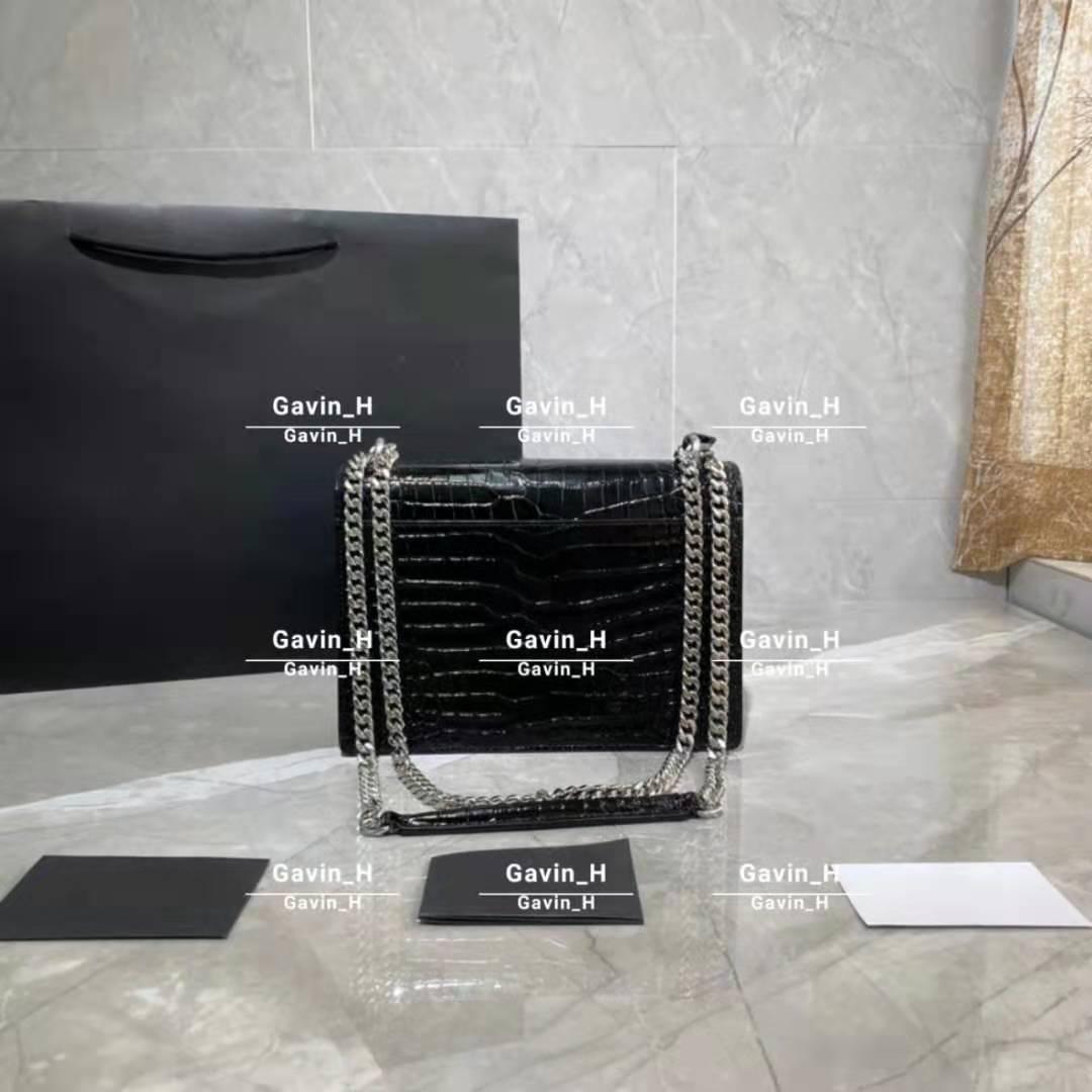 Rindsleder Klassische Mode Taschen Frauen Handtasche Schulter Lady Kleine Kette Designer Crossbody Bag Totes