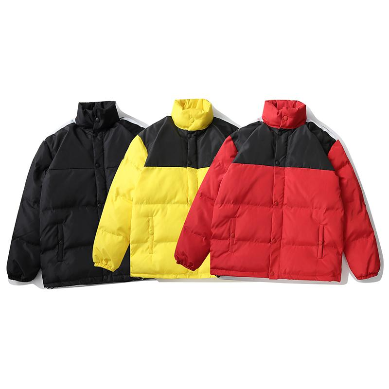 2021 Inverno Mens Top Qaultiy Down Piumino Moda Trend Trend Cotton-imbottito Giacche Coppia Coppia di uomini caldi e donne caldi