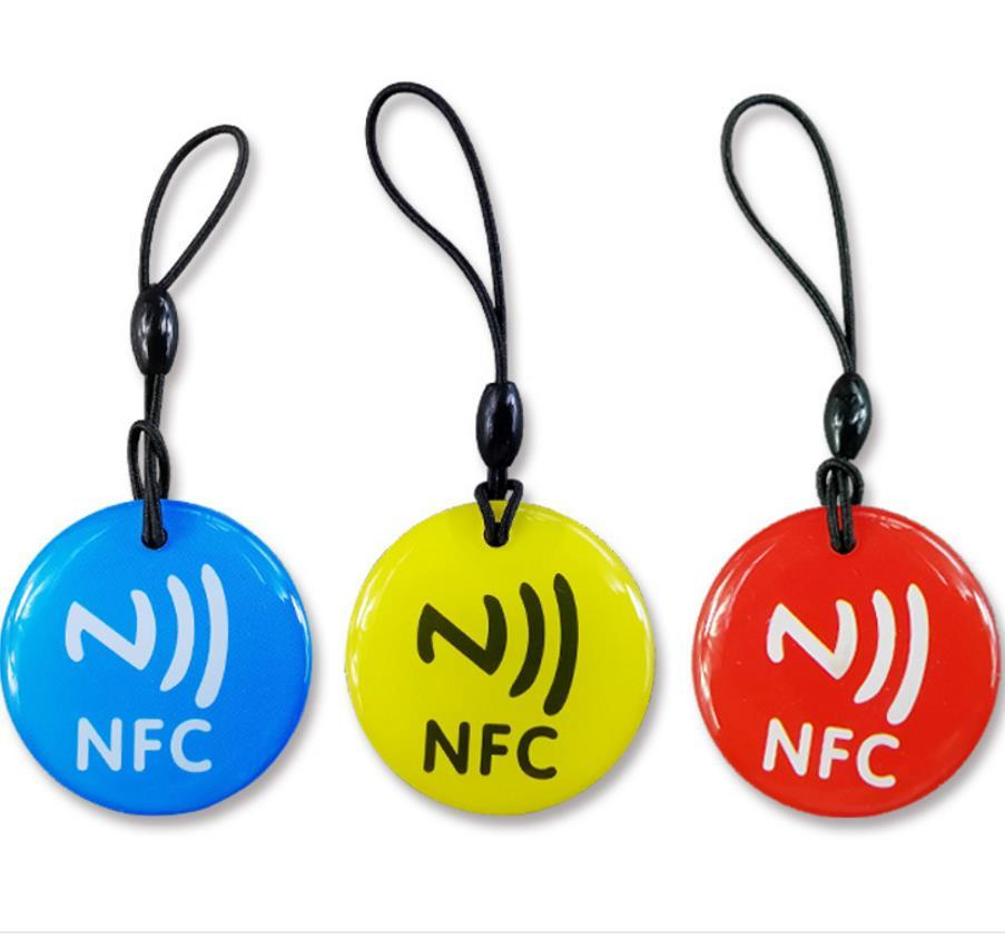 RFID EPOXY TAG With F08 Chip Tags Access Control Card Different Design Shape ISO144443A Compaible S50 1K +Rope 1000Pcs