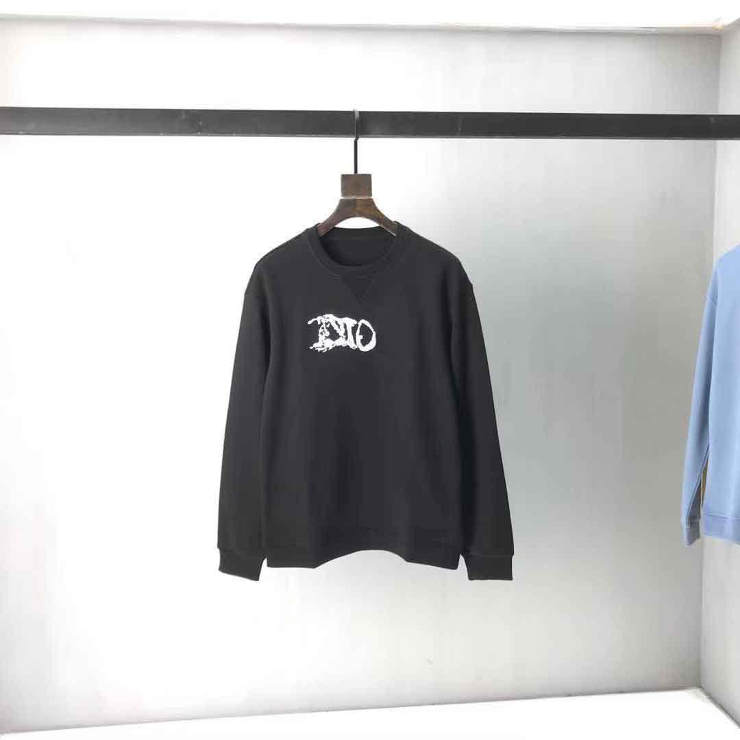 2021ss Spring and Summer Nouveau Coton de haute qualité Impression à manches courtes Panneau à col rond T-shirt Tableau: M-L-XL-XXL-XXXL Couleur: Noir Blanc 1xs21231
