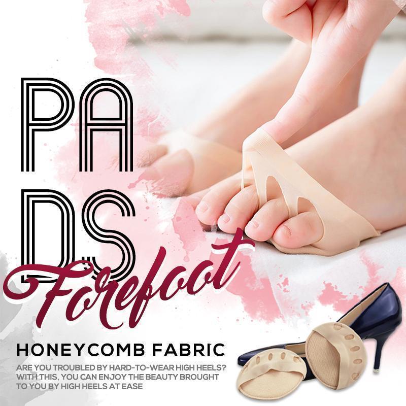 Tapetes de banho 3/5 pares padre tofoot para mulheres favo de mel almofadas de tecido pés dedos e arcos protected conjunto de ferramentas de pé confortado
