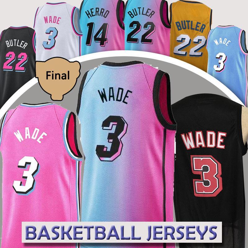 Miami Vice heat Jersey Goran Bam Dragic Adebayo Jerseys Dwyane Wade Jimmy Tyler Butler Herro Jerseys Duncan Nunn Robinson new top