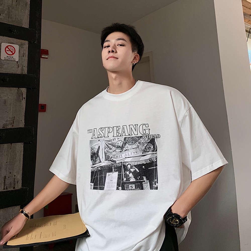 Топы INTFEDAY модный бренд персонализированные печатные короткие футболки лето черный и белый свободный хлопок половина рукава