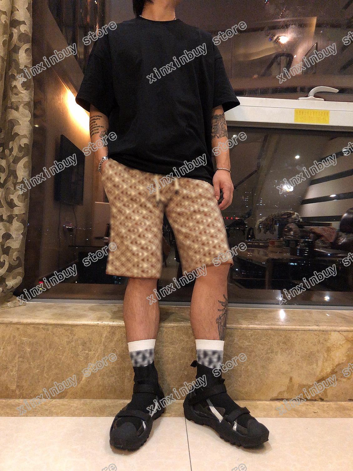 21SS Mens Designer Shorts Pantalons Jacquard Weave Printemps Summer Hommes Sweetbing Pantalon Double Lettre Casual Lettres Pantalons De Mariage Noir 08