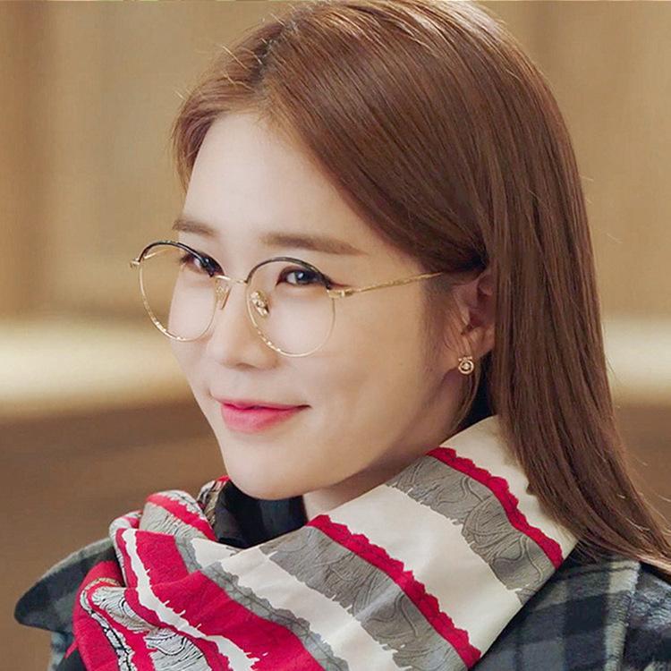 Заводское преувеличение 925 Корейский стиль женского простого безразличия модные серьги
