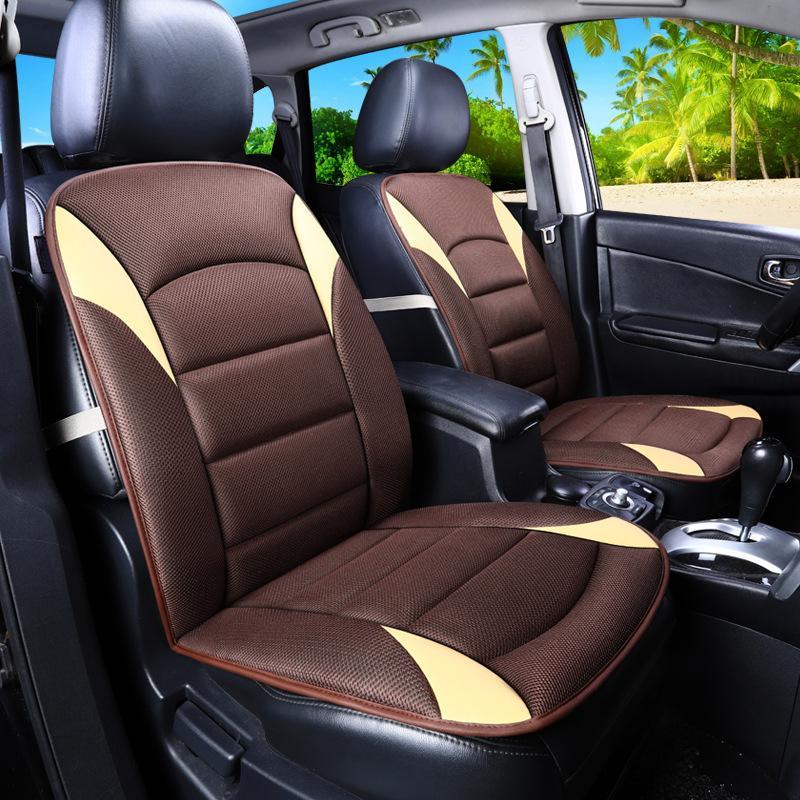 Assento de carro Capas Universal Assento Almofada Pad Mat Protetor Automóveis Interiores Capas Auto Acessórios Styling AA19