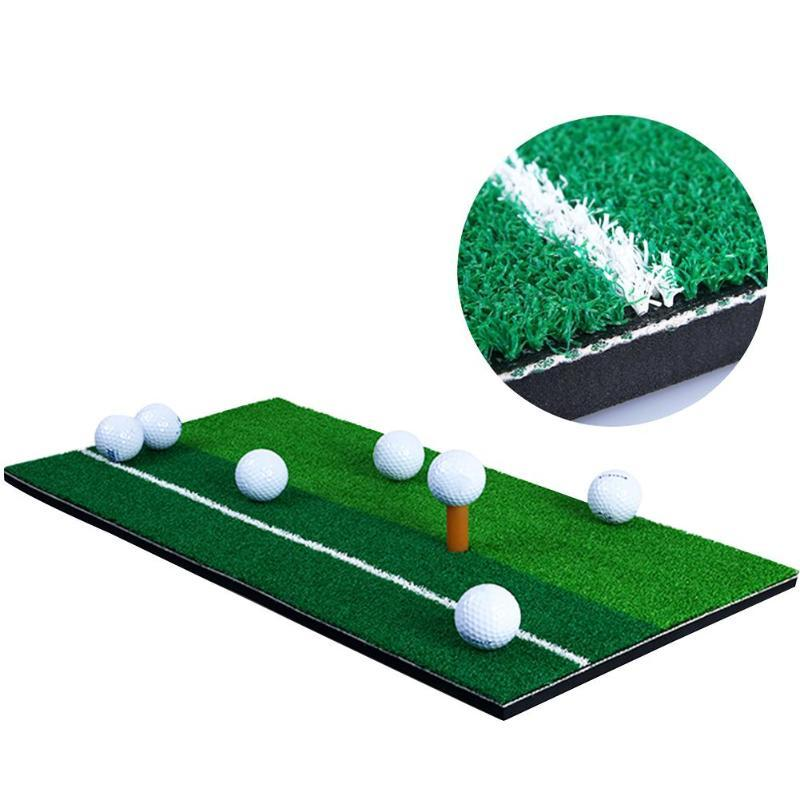 60x30cm Outdoor Indoor Golf Mat Training Practice Hitting Faux Turf Grass Pad Aids