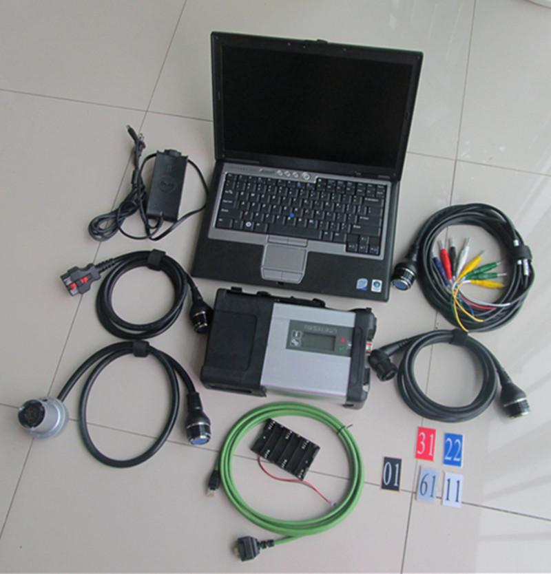 Scanner Dianóstic Tool MB STAR C5 SD Conecte Soft-Ware 500GB HDD V03.2021 en D630 laptop listo para usar
