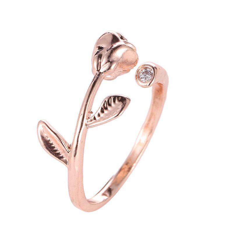 기질, 반지 티코 링, 장미, 다이아몬드, 선물.