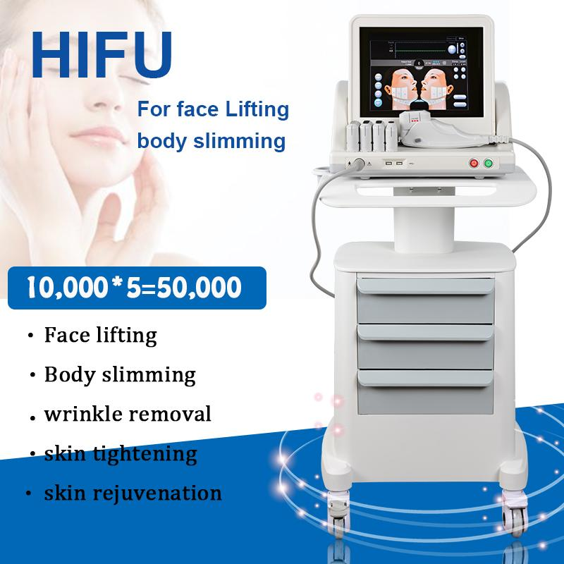 2021 hifu machine hifu face lifting machine Wrinkle Removal high intensity focused ultrasound Device HIFU facial machine
