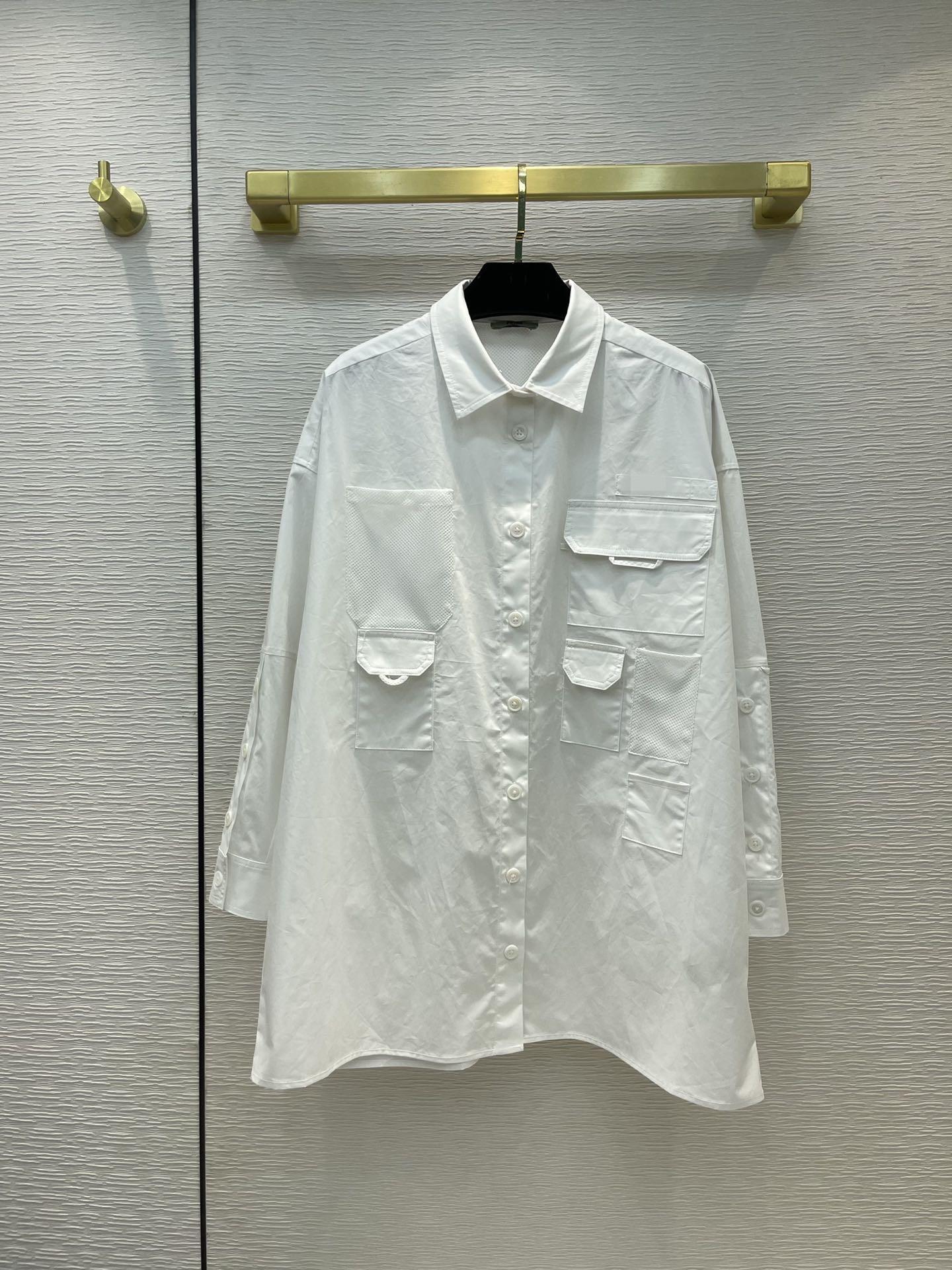 Milan pist gömlek 2021 fener kol yaka boyun baskı tasarımcı bluzlar markası aynı stil kadın 0526-27