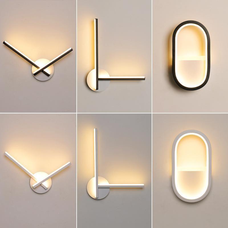 Nordic Led Stone Wall Lamp Luminaire Arandela Lampada Camera Luminaria De Parede Beside