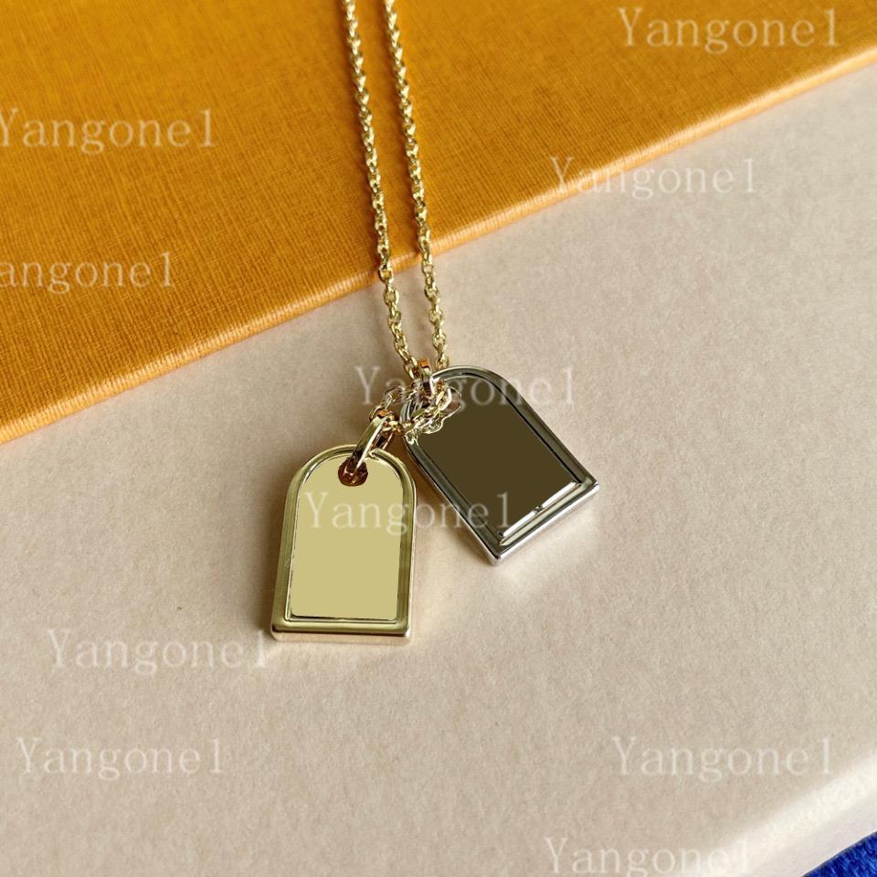 2021 Frau Anhänger Halsketten Mode Halskette Für Mann Anhänger Schmuck Geschenk Hochwertige Qualität