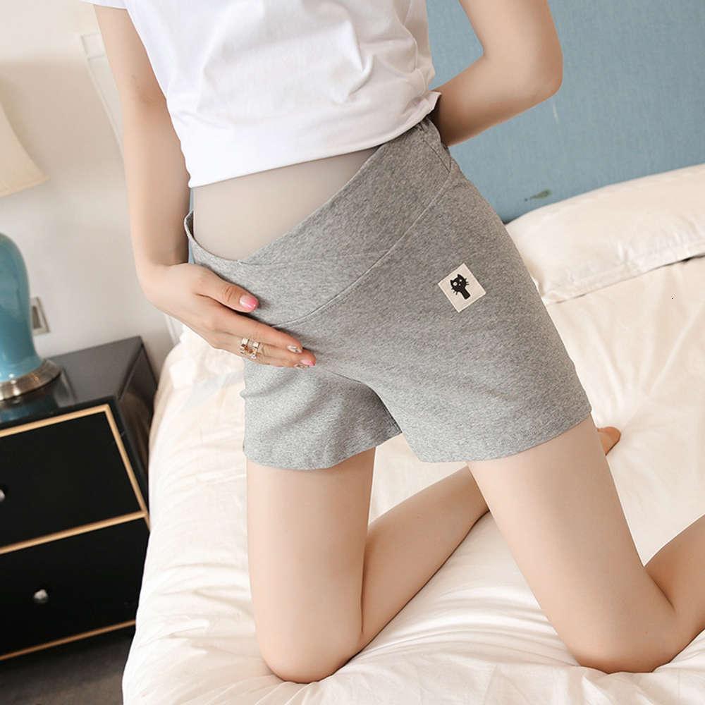 الملابس الحوامل الصيف دعم البطن النساء الحوامل تحت القطن ثلاثة أرجل،