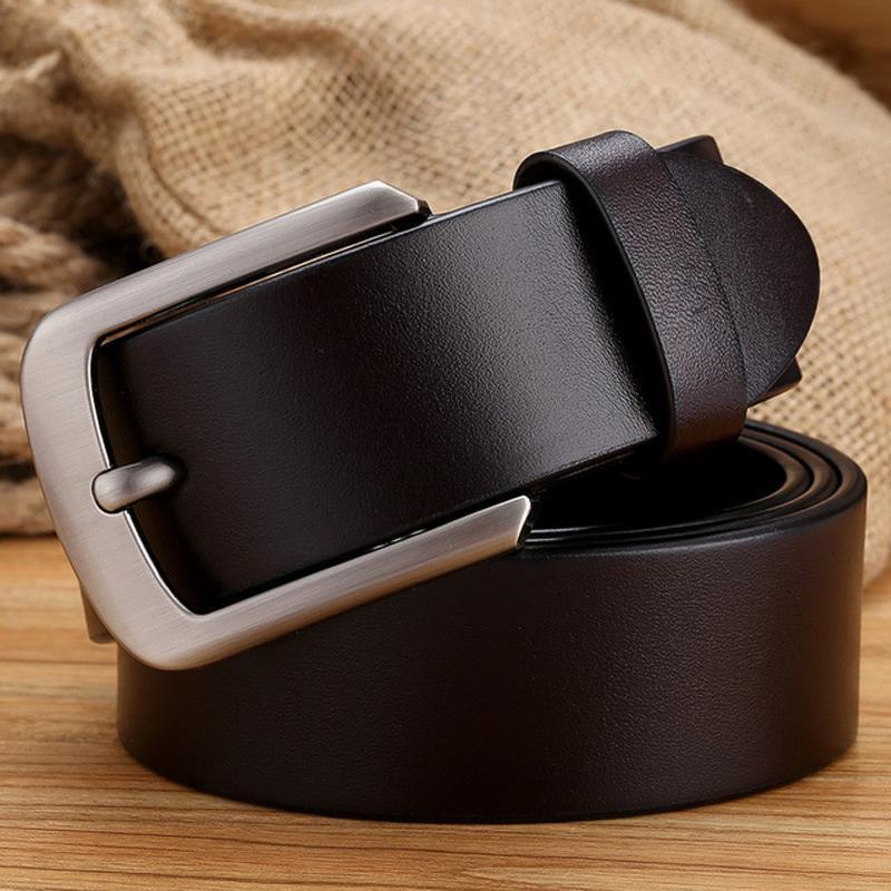 أحزمة الظلام تان حزام التكتيكي كامل الحبوب رجل الأزياء جلد طبيعي cowskin الأشرطة الرجال للجينز 140 150 واسعة