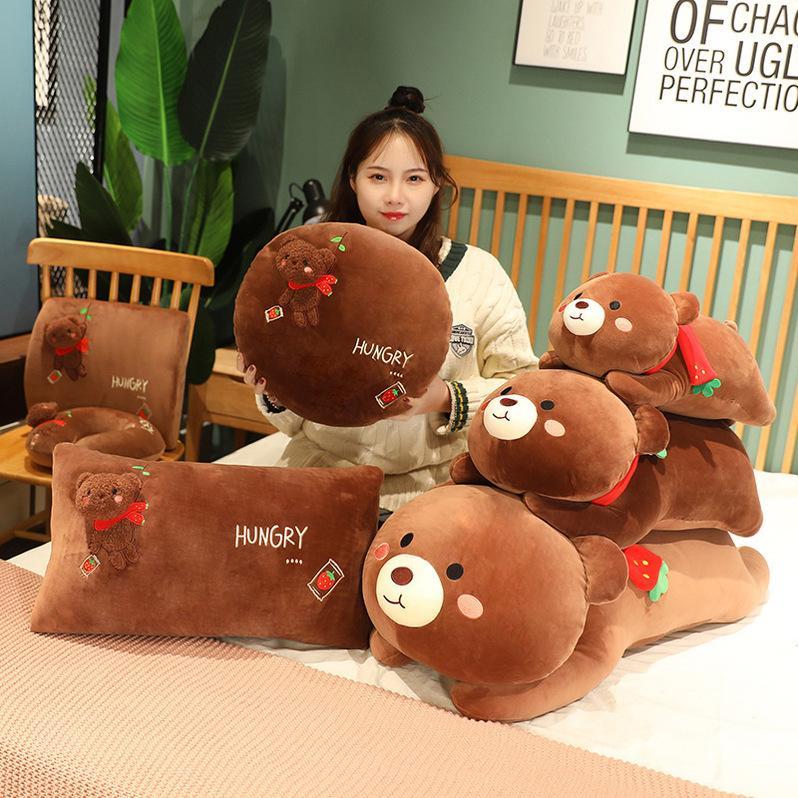 Peluches peluches poupées de cuisson d'oreiller en coton d'oreiller de coton jouet dossier cadeau poupée créativité jouets créatifs