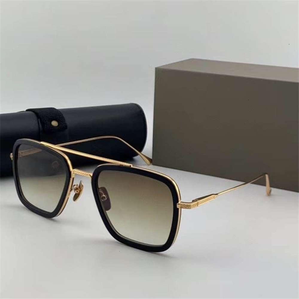 Estilo global de hombres de calidad gratis El último diseño Los mejores gafas de sol y la logística de lujo de las mujeres El vuelo UV400 006 DTBXN