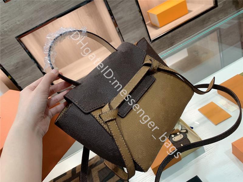 Дизайн роскошная сумочка 2021 леди мода сумки сумки сумки лоскутная натуральная кожа классический ретро все-матч простота высокой емкости налить T сома