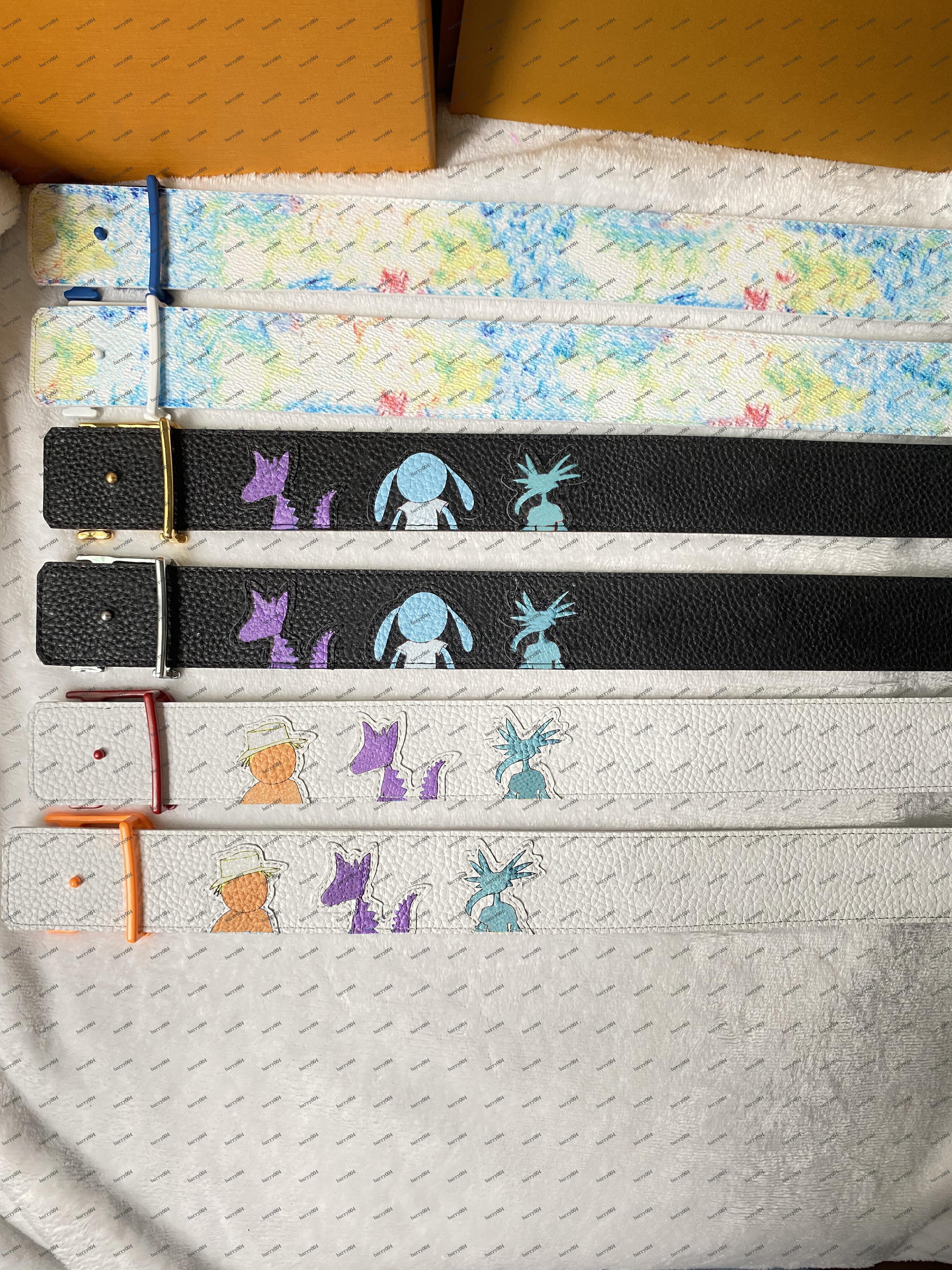 الأزياء عارضة حزام الكرفتي الكتابة على الجدران، عرض 4.0، أحزمة أسلوب الاختيار من متعدد، أحجام من 90 إلى 110 يورو