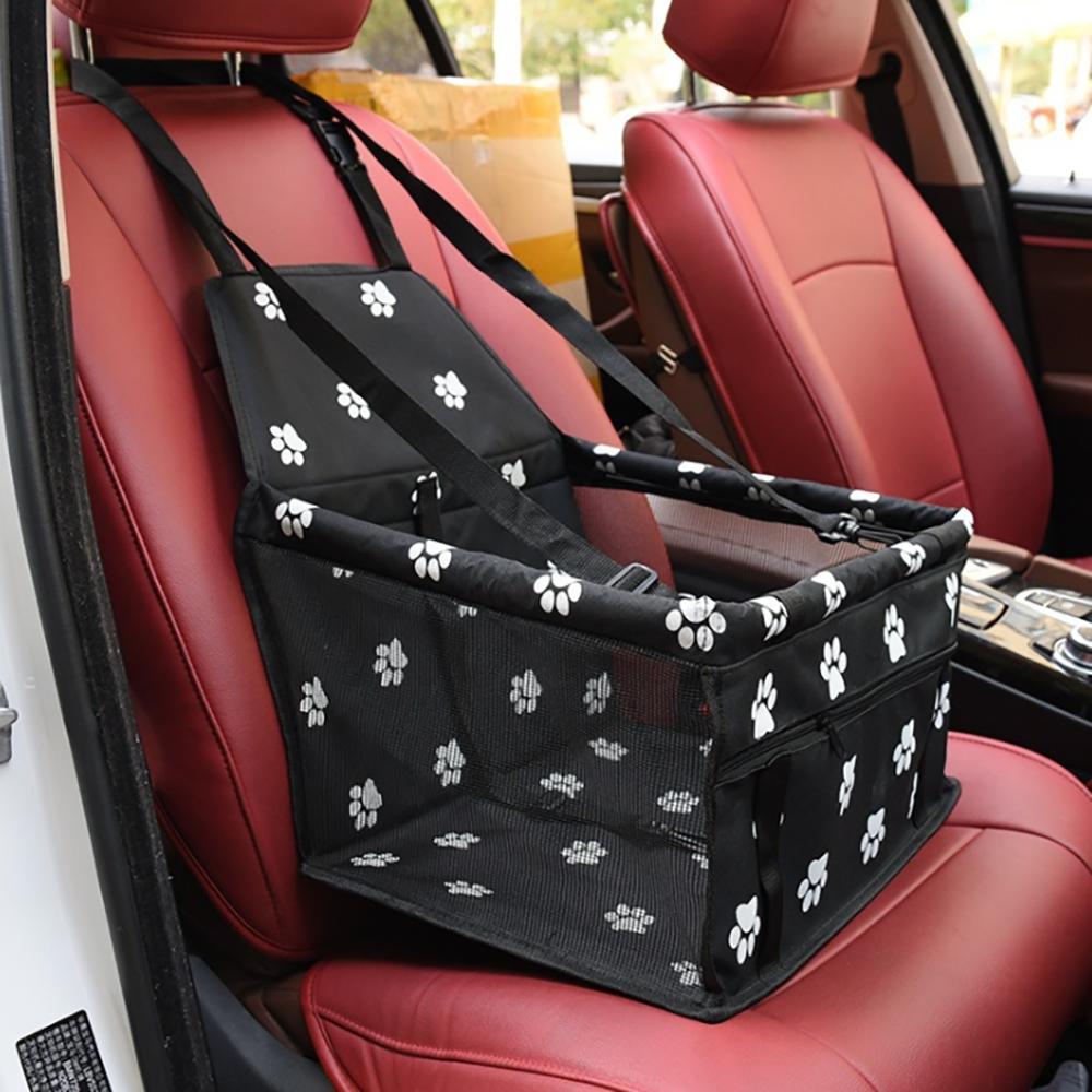 الحيوانات الأليفة الكلب مقعد السيارة حقائب للماء سلة قابلة للطي أرجوحة حاملات حقيبة لكل الكلاب الصغيرة السلامة السفر
