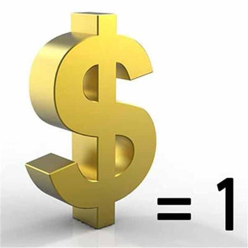 One Dollar Link for VIP to Fill Price Difference or Extra Fee with DHL EUB FEDEX Shipping Logistics etc