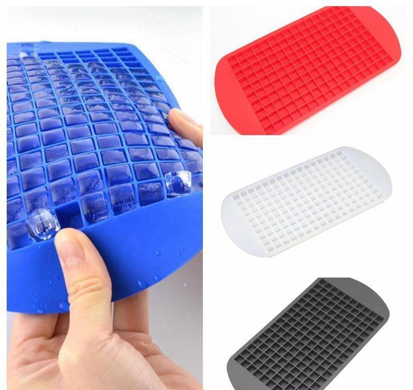 Silicona hielo cubo bandeja mini cubo cubo fabricante de silicona molde de congelación molde de hielo cubo de hielo molde de hielo molde de hielo Herramientas de helado DH0633