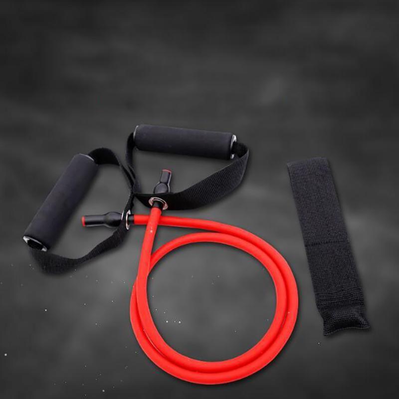 135 cm Elastik Direnç Bantları Yoga Çekme Halatı Fitness Egzersiz Spor Kauçuk Çekme Genişletici Sakız Elastica