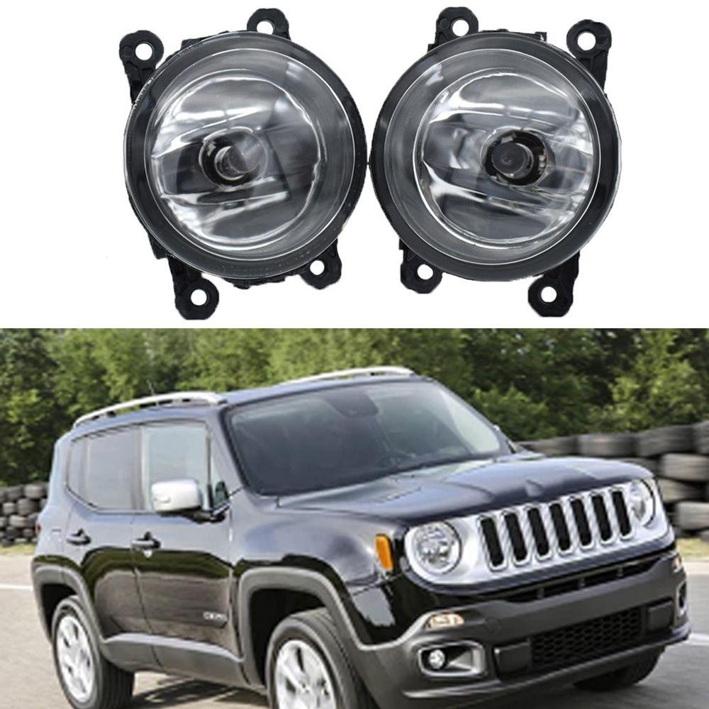 2x Auto-Styling-Nebelscheinwerferlampe H11 H8 12V 55W Halogen Nebelscheinwerfer für Jeep Renegade BU 2015 2016 2017 2017 2017
