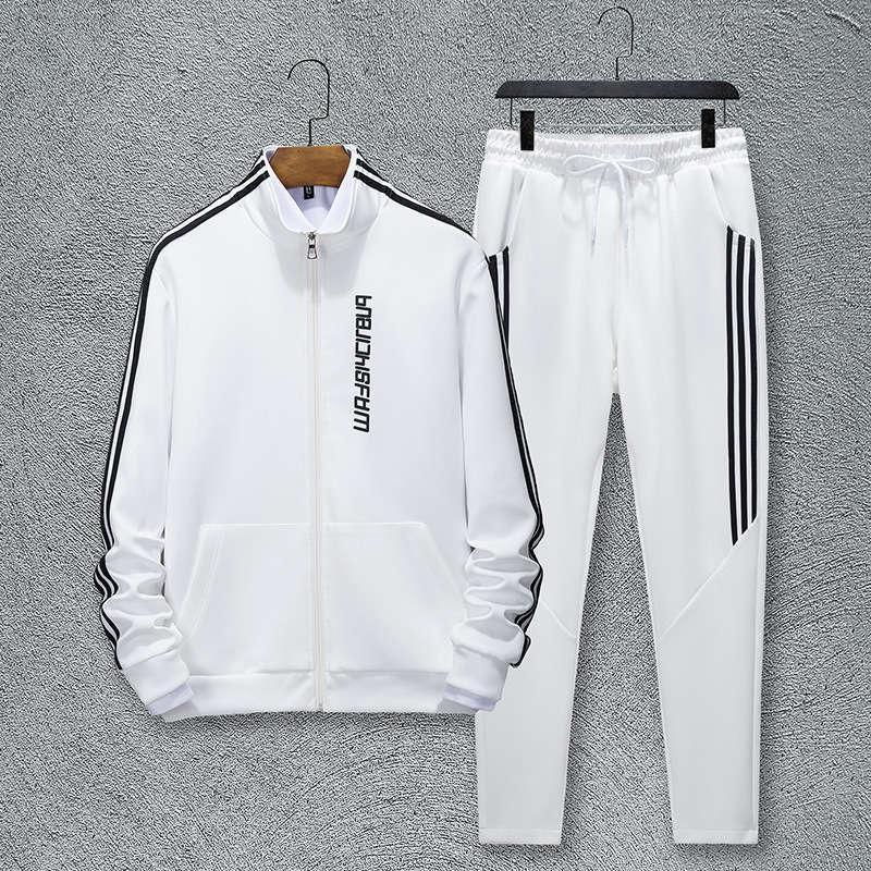 Erkek Eşofmanlar Bahar Ve Sonbahar Eğlence Spor Rahat Moda Yakışıklı Pantolon İki Parçalı Suit Fujian