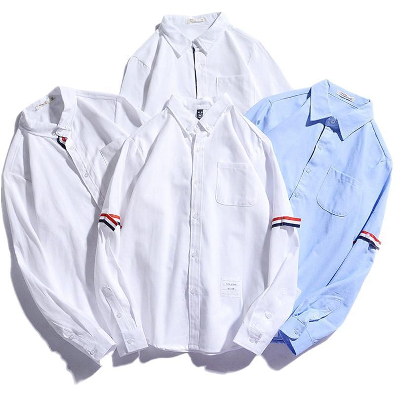 판매 4 스타일 판매 패션 캐주얼 남성 셔츠 망 의류 2021 S-3XL 남자