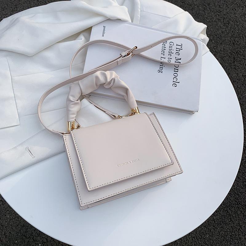 Messenger BagsPure Spring Single 2021 Shoulder Color Foreign Style Handbag Fashion Simple Messenger Trend Women's Bag